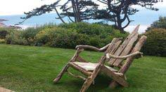 make a driftwood lawn chair