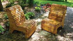Make A Pair of Slat Chairs