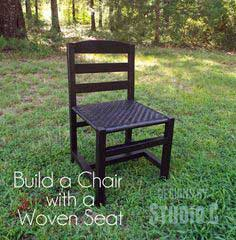 Build a Chair with a Woven Seat