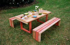 How to Build a Rustic Planter Table