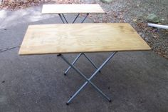 DIY Utility Tables