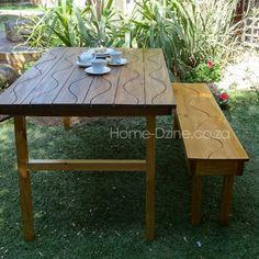 Groovy Folding Garden Table
