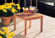 Quick,Easy-to-MakePatio/Deck Tables