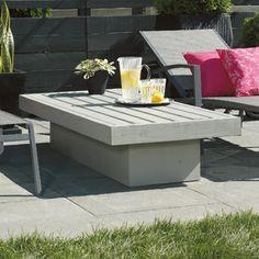 BUILD A PATIO COFFEE TABLE