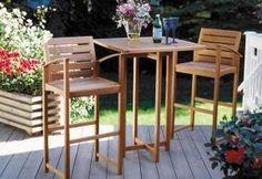 Build an elegant patio set