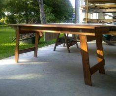 Free Woodworking Plans to Build a Fabulous Folding Table