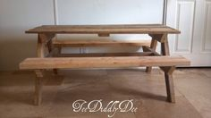 How To Build Kid Size Picnic Table Out of Old Recycled Pallets
