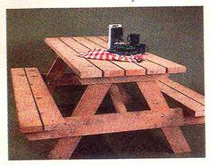 The All-American Picnic Table