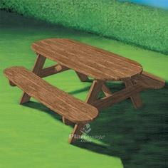 BUILD AN OUTDOOR KID'S PICNIC TABLE