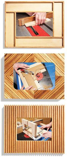 Miter-Free Picture Frames