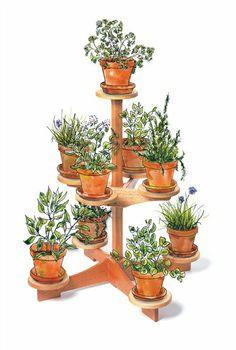 Plant Stand Plans Over 100 Plans From Planspin Com