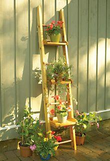 Plant stand plans over 100 plans from - Ladder plant stand plans free ...
