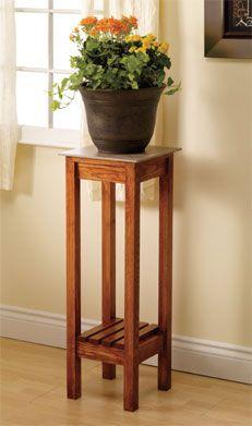 Plant stand tutorial