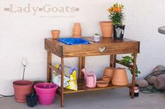 Collapsible Potting Table