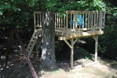Fort plans indoor and outdoor plans for building kid 39 s forts for How to build a simple tree fort