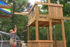 How to Put Together a Backyard Playset
