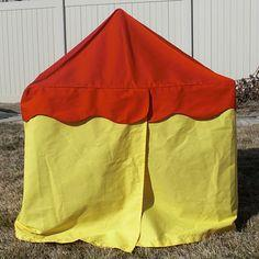 Classic Card Table Tent--with Variations
