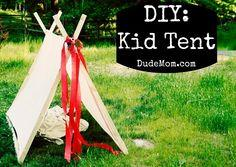 Wordful Wednesday. How to Make a Tent.