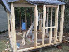 How to Build a Wooden Children's Playhouse
