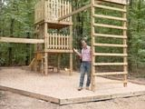 HOW TO BUILD A DOUBLE-DECKER PLAYHOUSE