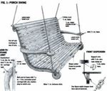 Porch swing free plans