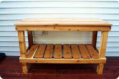 knock off potting bench