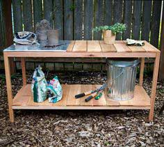 OUTDOOR PLANTING TABLE