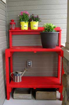 Build a Simple Potting Bench