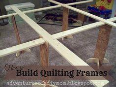 Build Quilting Frames