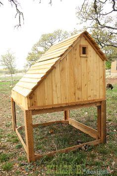 Free Outdoor Rabbit Hutch Plans