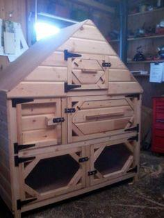 Rabbit Hutch Construction