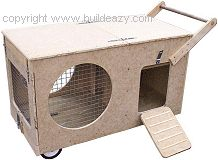 How to make an indoor Rabbit Hutch