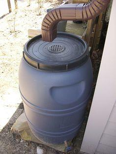 How to make your own rain barrel at home