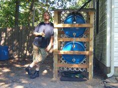 How to build a rain water collector system