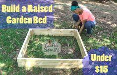 Raised Garden Bed Under $15