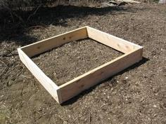 $10 Raised Garden Bed