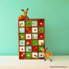 Soda Crate Advent Calendar