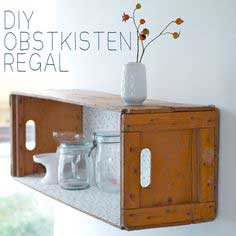 Obstkisten regal tutorial