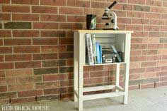 Wooden Crate Storage Table