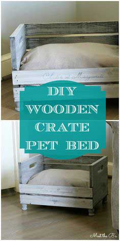 DIY Pet Bed tutorial