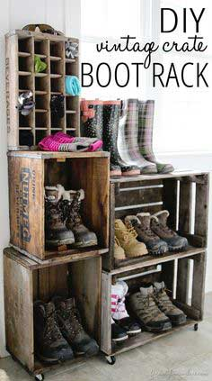 CRATE BOOT RACK