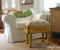 Soda Crate Footstool tutorial