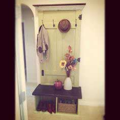 How to Make an Entryway Bench From an Old Door