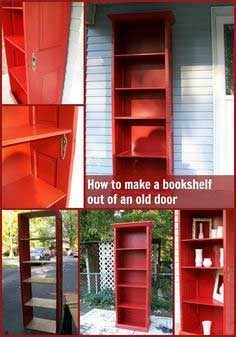 Door Repurposed (Bookshelf)