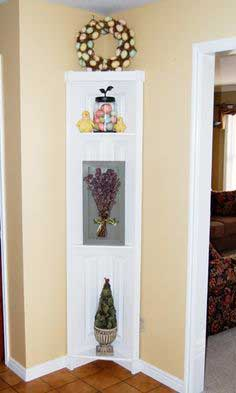 Door Corner Shelf Tutorial