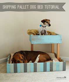 Shipping Pallet Dog Bed Tutorial