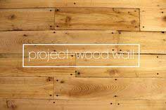 Project: wood wall