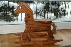 Build An Heirloom Rocking Horse