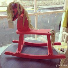 The Vintage Rocking Horse [before & after]