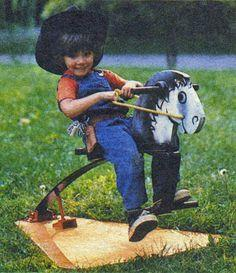 Building an Outdoor Rocking Horse